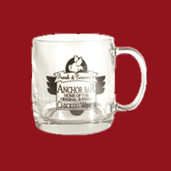 Anchor Bar Small Glass Mug