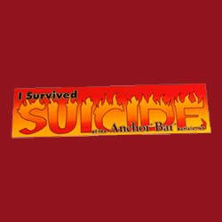 Anchor Bar 'I Survived Suicide' Bumper Sticker