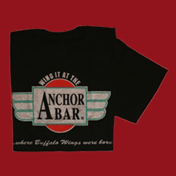 Anchor Bar Buffalo Wings Were Born Here T-Shirt