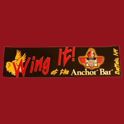 Anchor Bar 'Wing It' Bumper Sticker